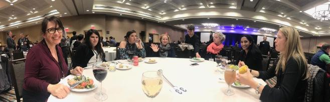 Ladies dinner table!
