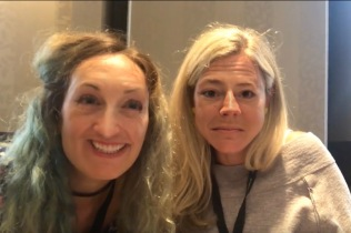 Ceri & Ingrid face swap.